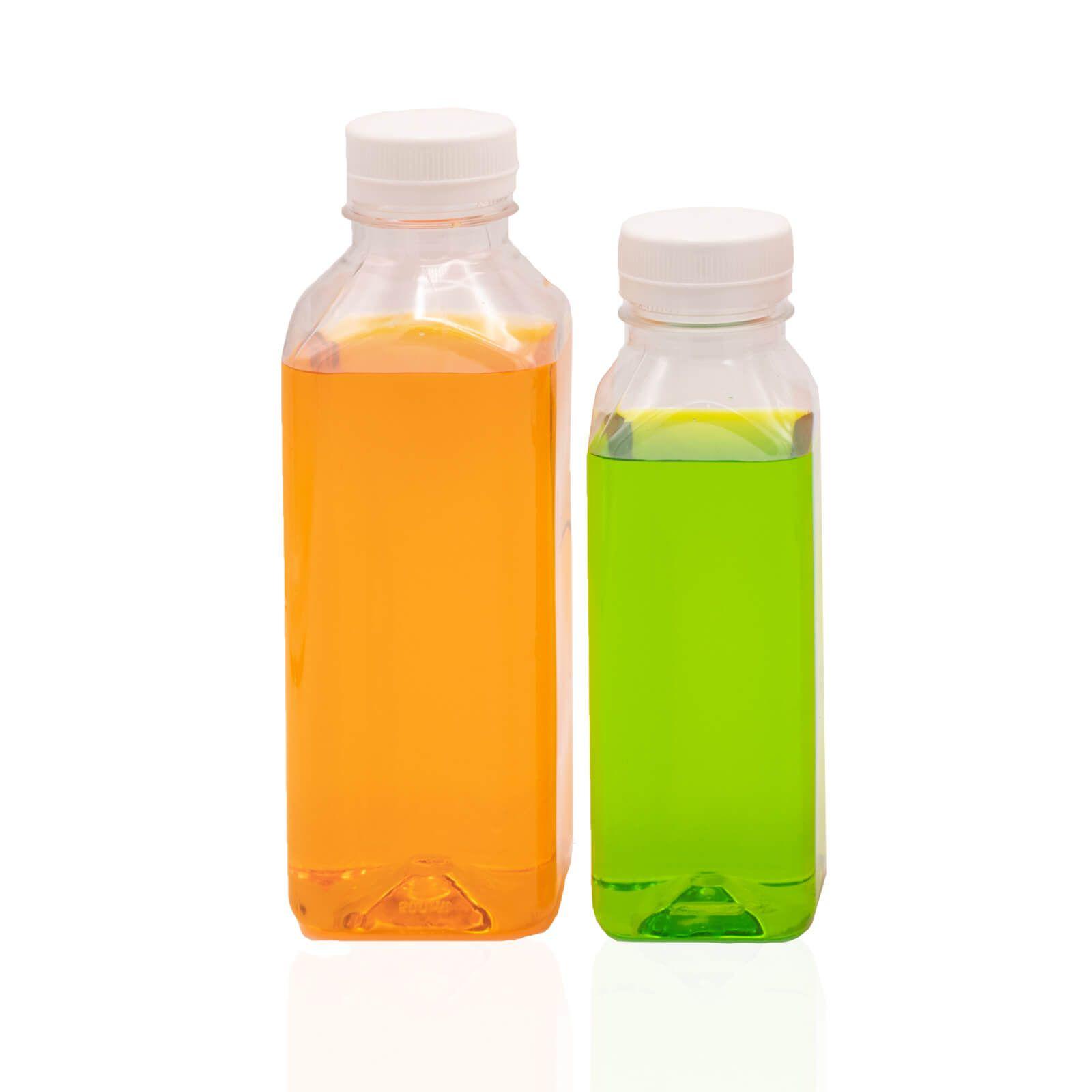 Garrafa  crista para Suco Detox 100un. 300mL, 500mL e 1L