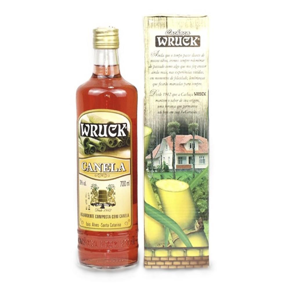 Aguardente Composta com Canela - Wruck - 700 ml