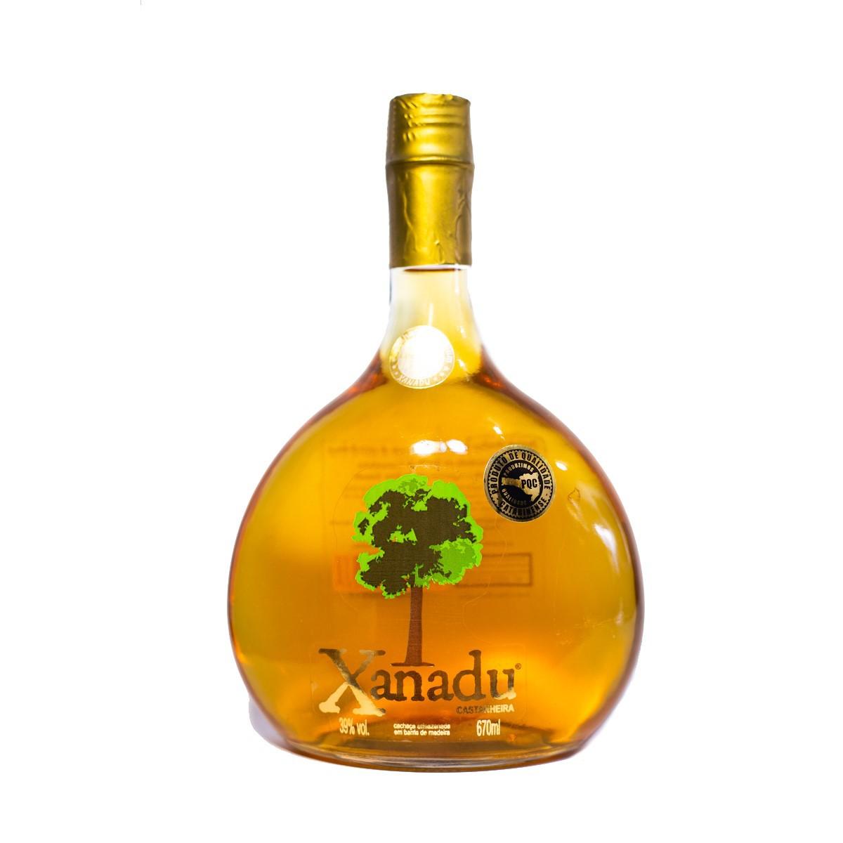 Cachaça de Castanheira - Xanadu - 670 ml