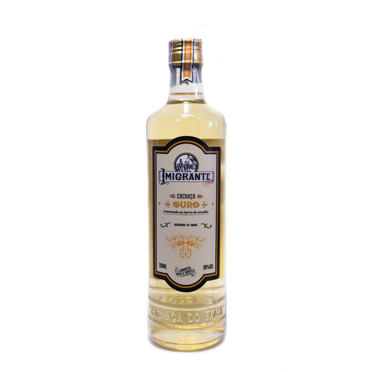 Cachaça Ouro - Imigrantes - 700 ml