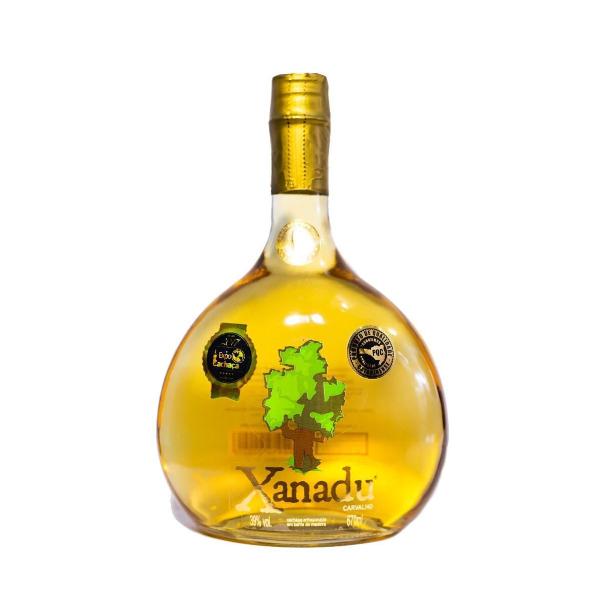 Cachaça Ouro - 6 anos - Xanadu - 670 ml