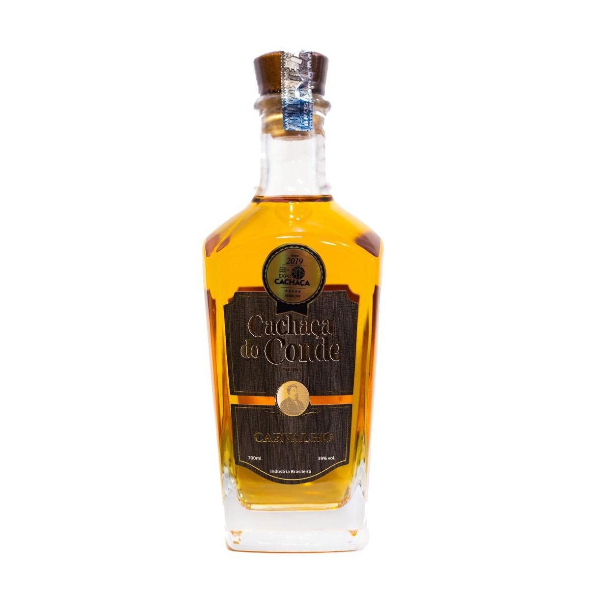 Cachaça Ouro - Edição Especial - Do Conde - 700 ml