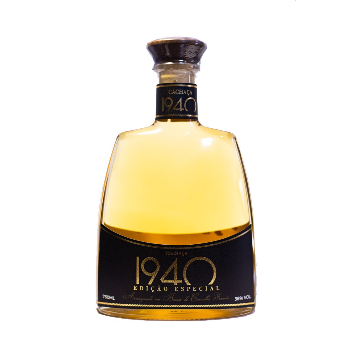 Cachaça Ouro - Edição Especial 1940 -10 anos - Tessarollo - 700 ml