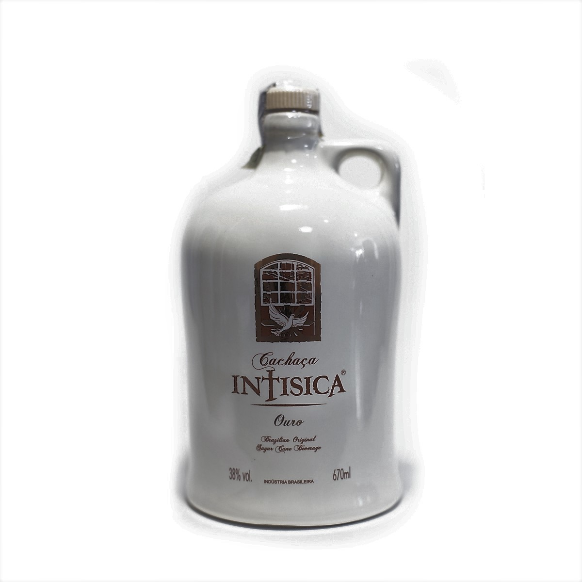 Cachaça Ouro - Intisica - Garrafa de Porcelana - 670 ml