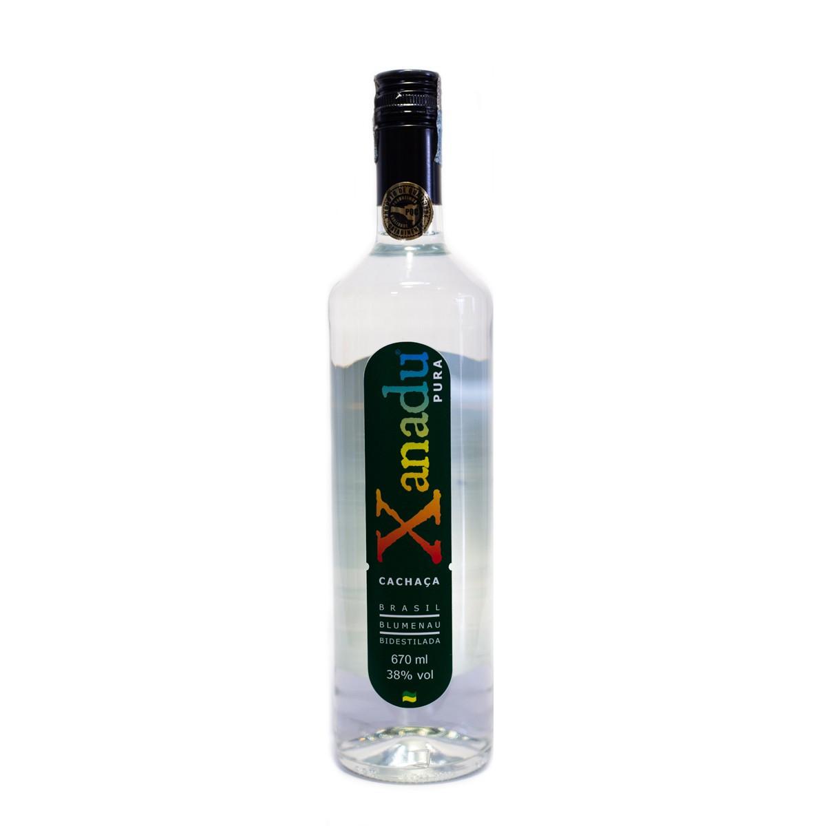 Cachaça Prata - Xanadu - 670 ml