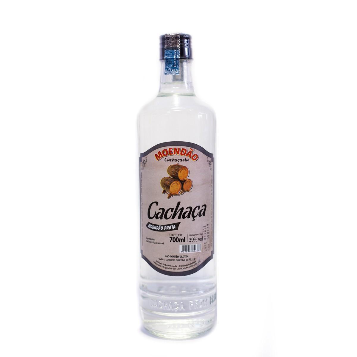 Cachaça Prata - Moendão - 700 ml