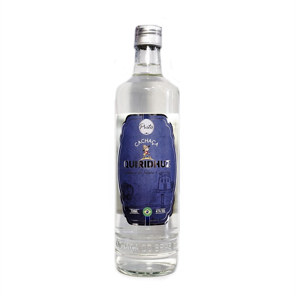 Cachaça Prata - Quiridhuz - 700 ml