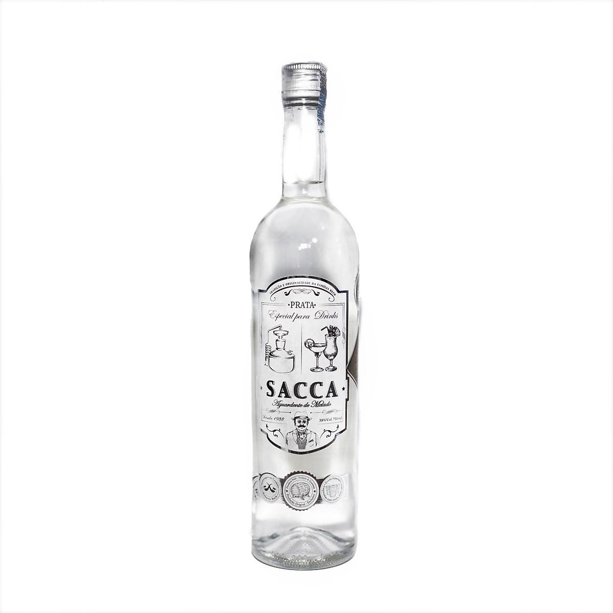 Cachaça Sacca Prata - 750 ml