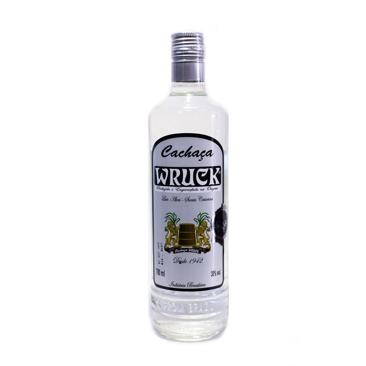 Cachaça Prata - Wruck - 700 ml
