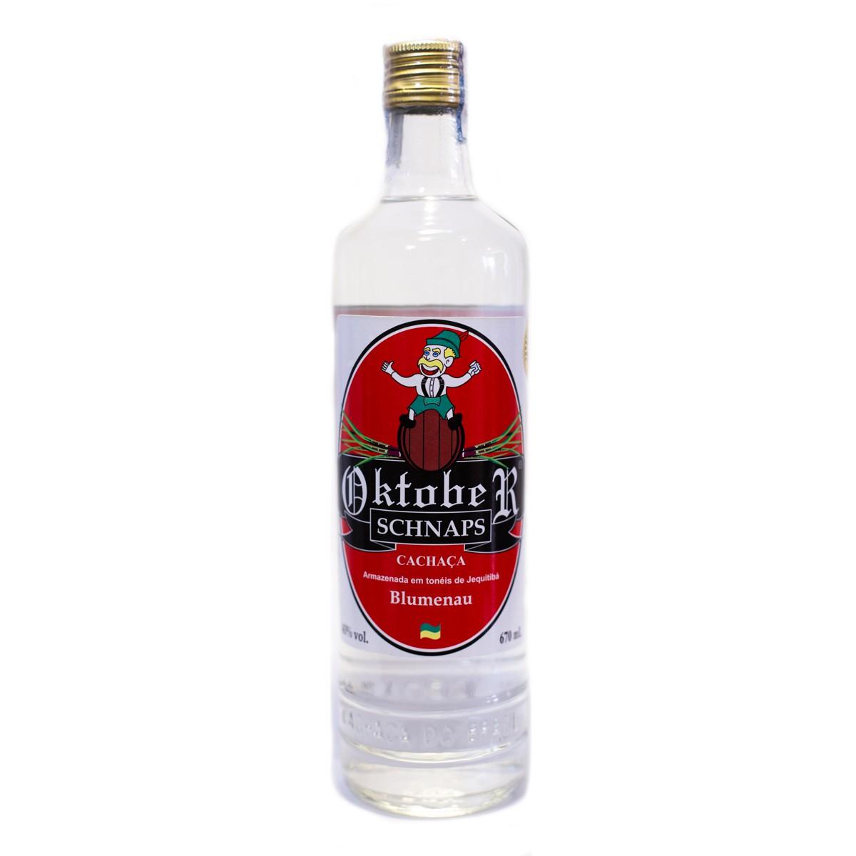 Cachaça Prata Oktober Schnaps - Xanadu - 670 ml