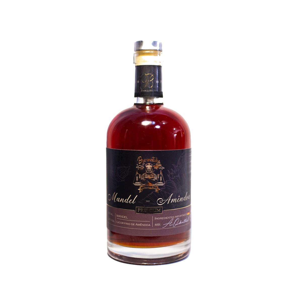 Licor Fino de Amêndoas - Mandellikor - Brennstube - 500 ml