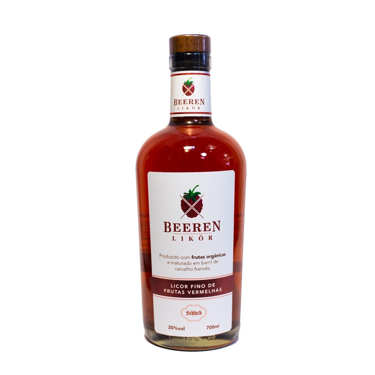 Licor Fino de Frutas Vermelhas - Beeren Likor - Schluck - 700 ml