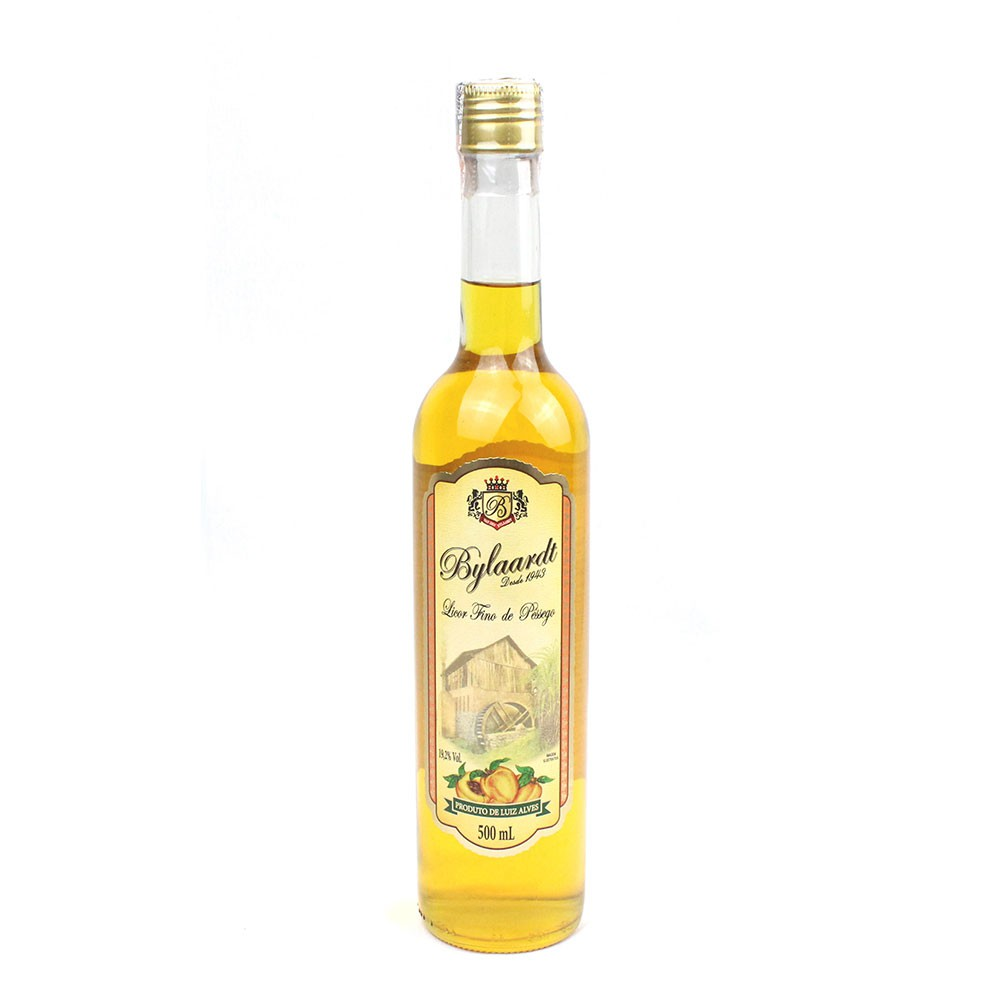 Licor Fino de Pessêgo - Bylaardt - 500 ml