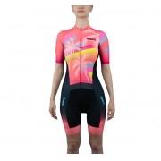 Macaquinho Ciclismo Ed. Limitada Coral Fem Summer