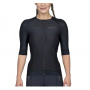 Top Triathlon c/ manga Carbon Black (Preto) - Fem - 2020