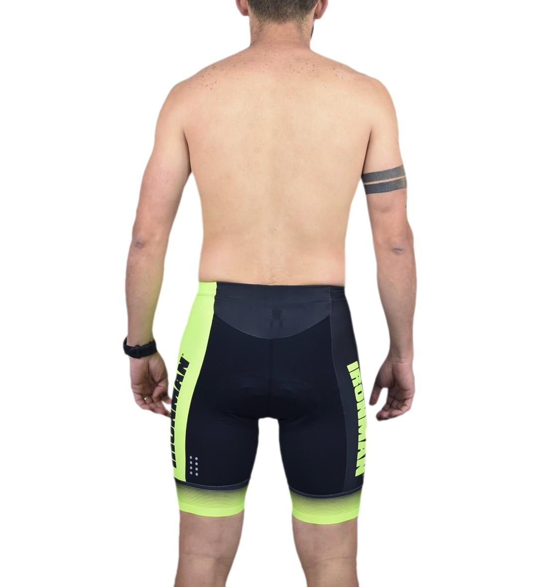 Bermuda Ciclismo Masc - Ironman - Preto