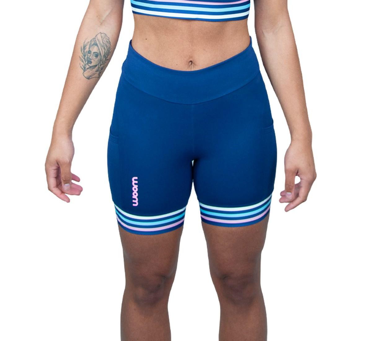 Bermuda Running (Ed Ltda) X-fit Azul Marinho Fem 2021