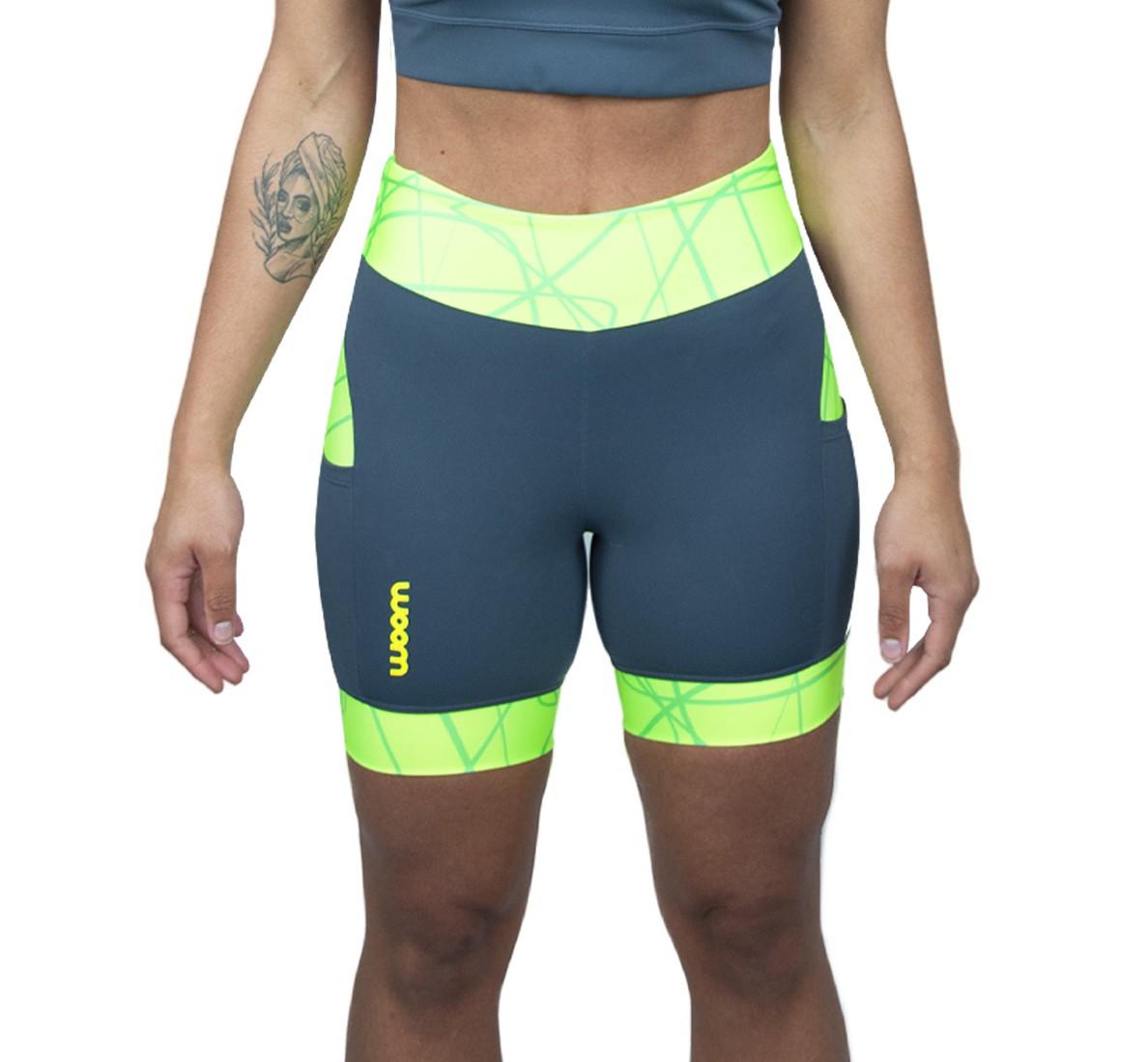 Bermuda Running (Ed Ltda) X-fit Verde Fem 2021