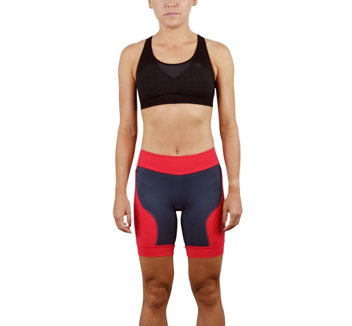 Bermuda Running Fem - Meola - Vermelho