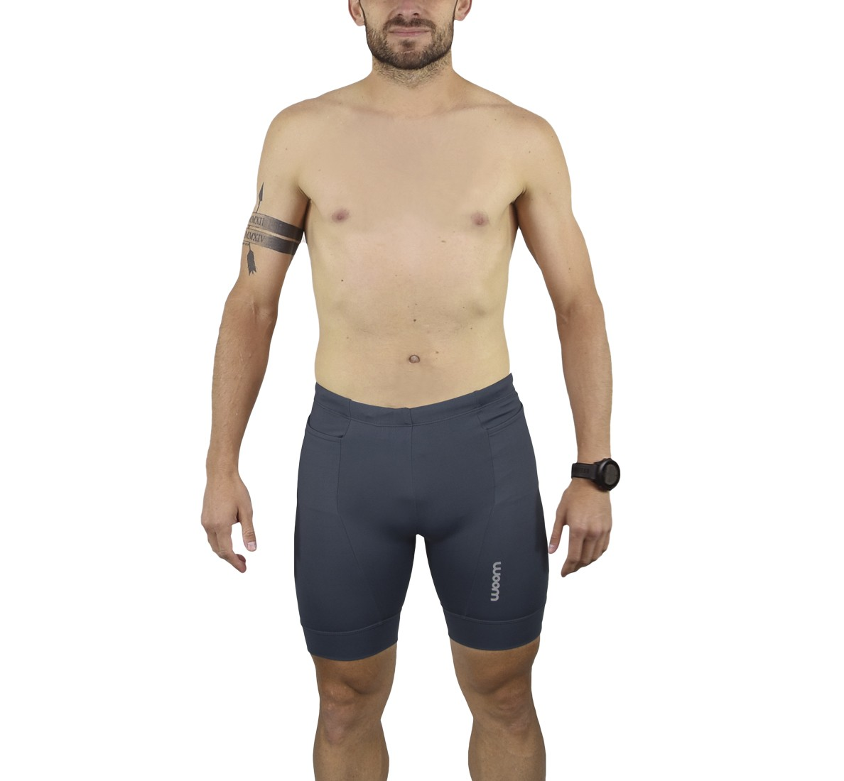 Bermuda Running Basic Cinza Masc - James - 2021