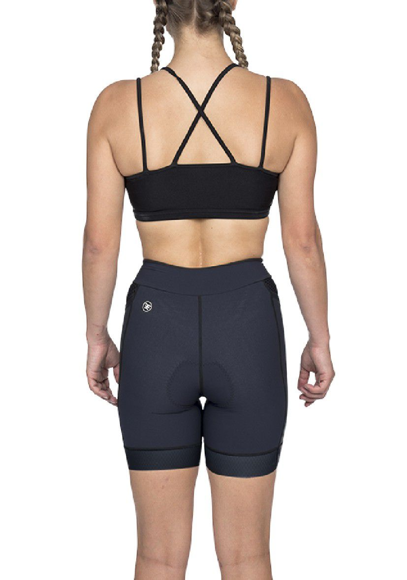 Bermuda Triathlon Carbon Black (Preto) - Fem - 2020