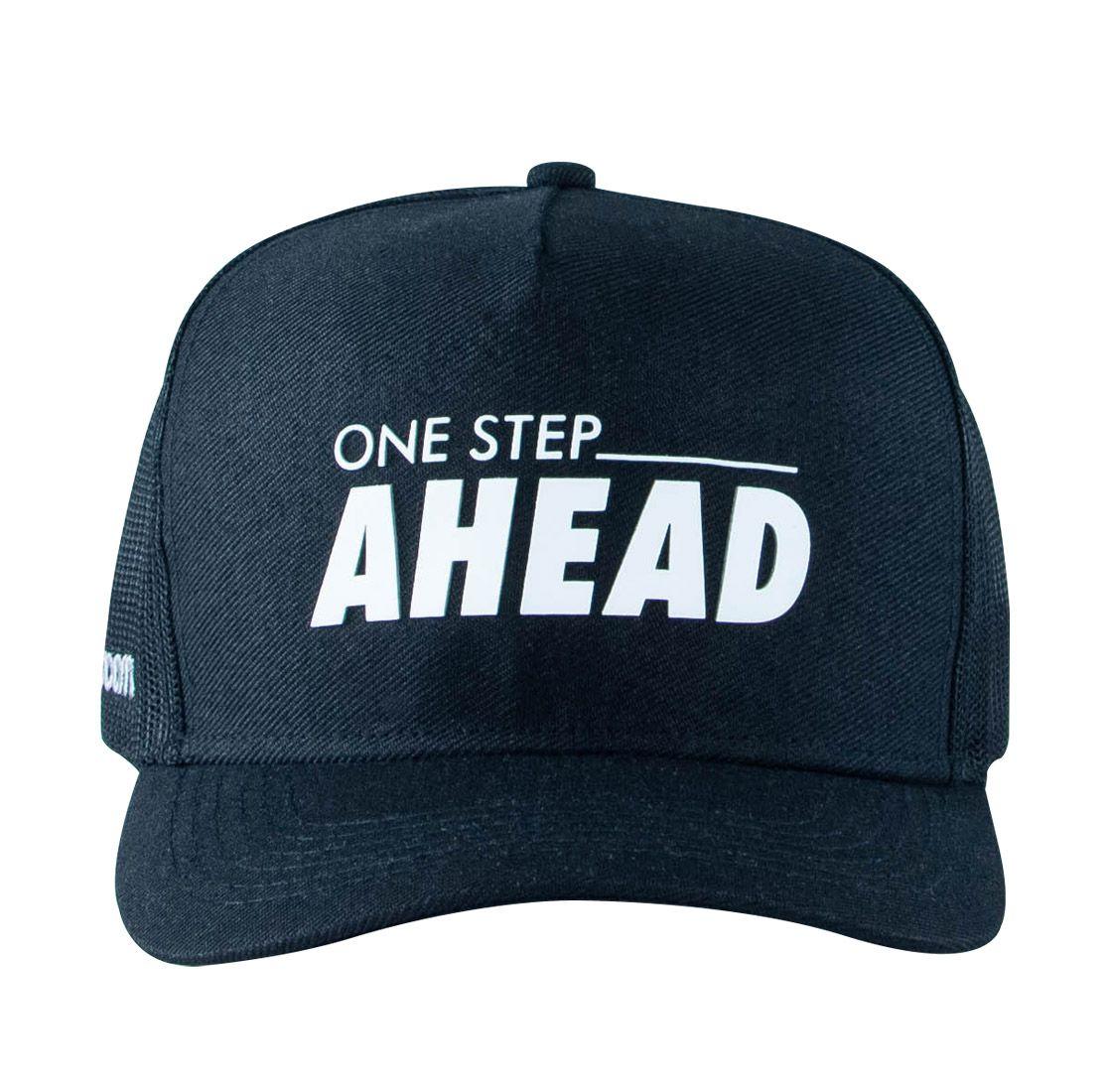 Boné One Step Ahead Unissex - Preto - Woom 247