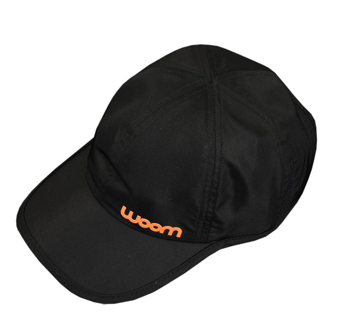 Boné Running Preto/Laranja - Unissex - Ed. Limitada - U - Woom