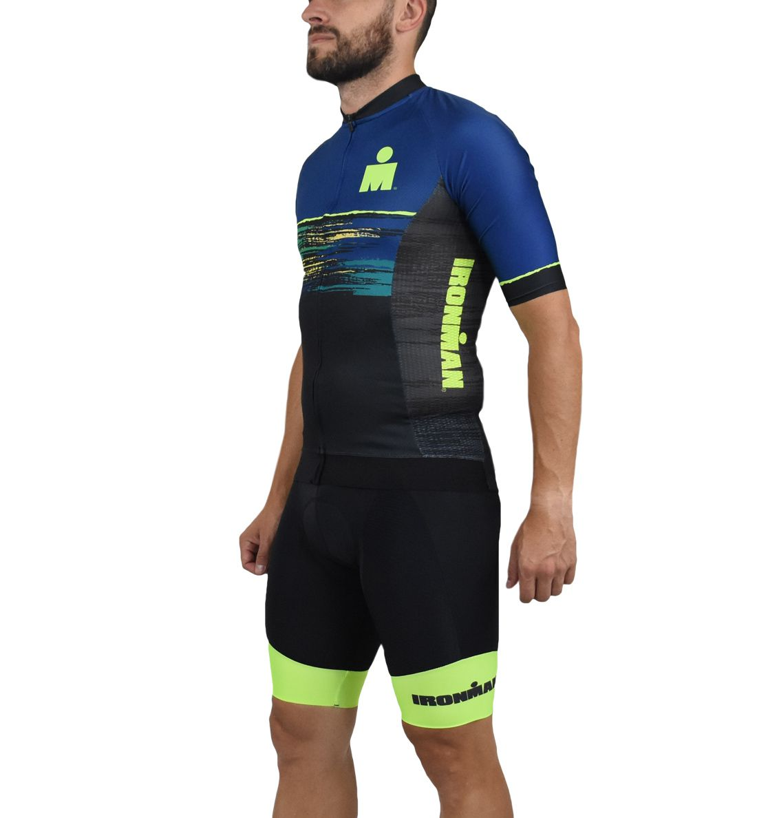 Camisa Ciclismo Azul Marinho - Masc - Ironman - Woom