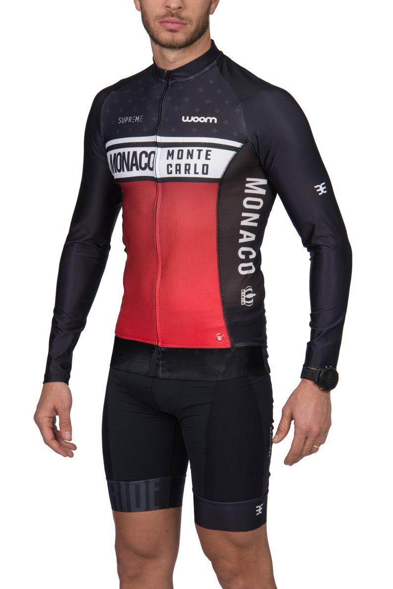 Camisa Ciclismo ML Supreme Monaco - Masc - 2019