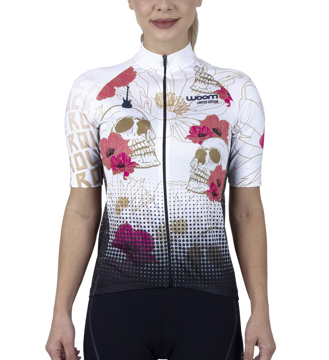Camisa Ciclismo Rock n Roll Fem - Ed. Ltda