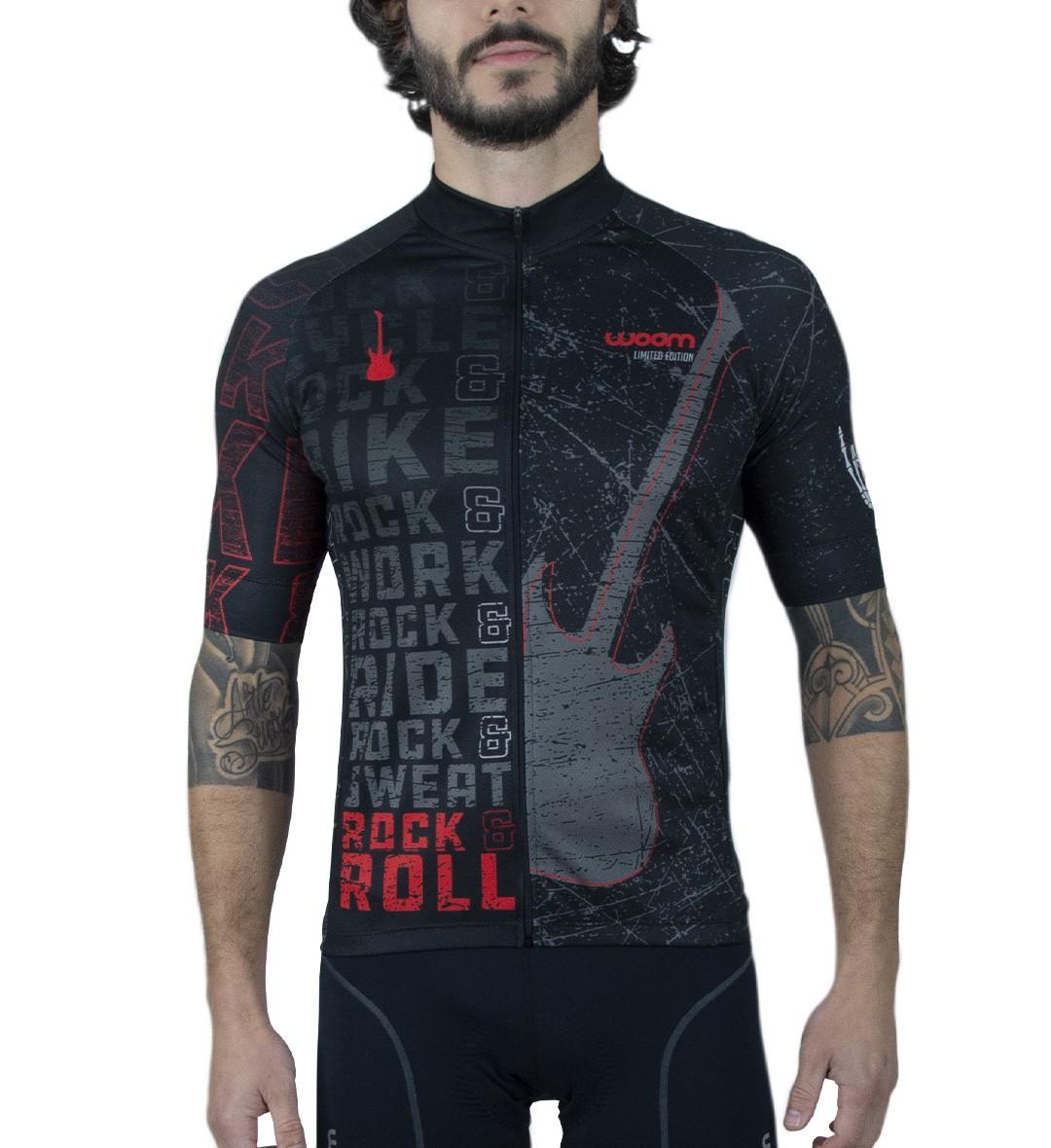 Camisa Ciclismo Rock n Roll Masc - Preto - Ed. Ltda