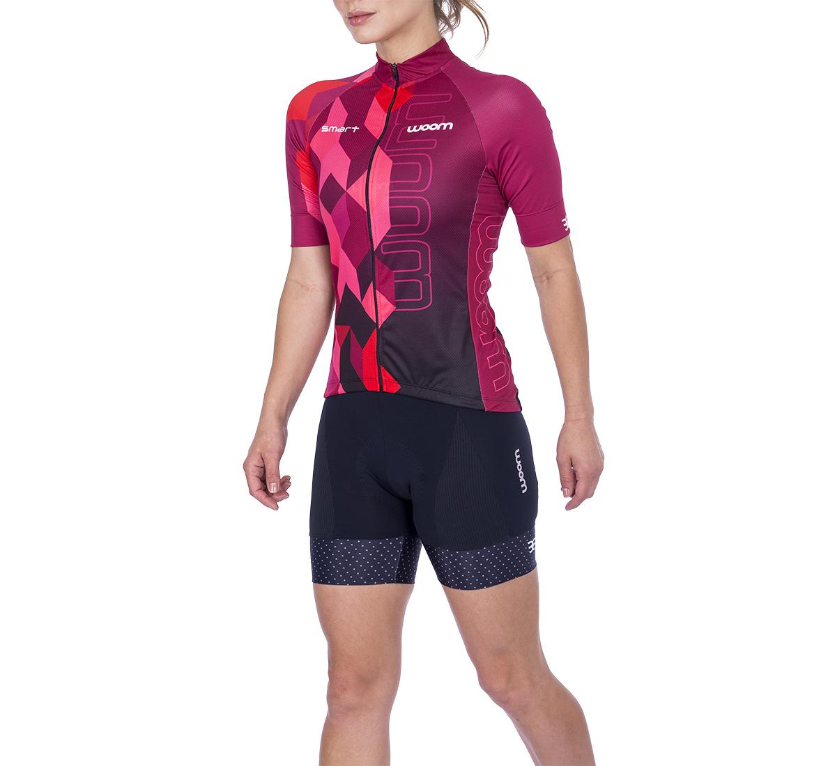 Camisa Ciclismo Smart Scarlet Fem - 2021