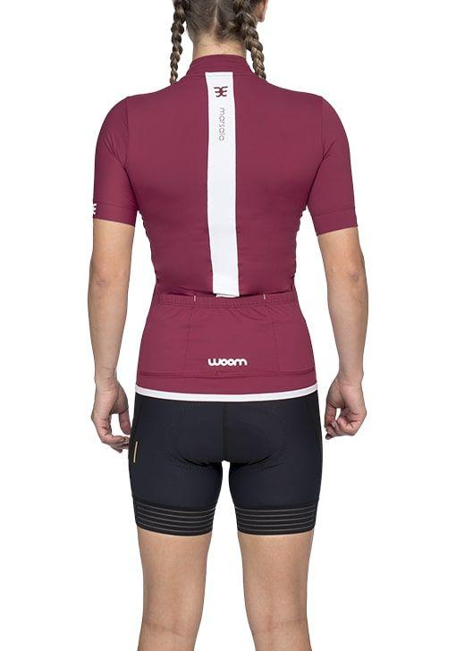 Camisa Ciclismo Squadra Marsala (Vermelho) - Fem - 2020