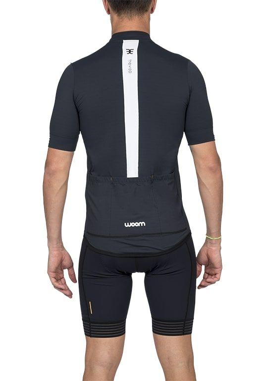 Camisa Ciclismo Squadra Treviso (Preto) - Masc - 2020