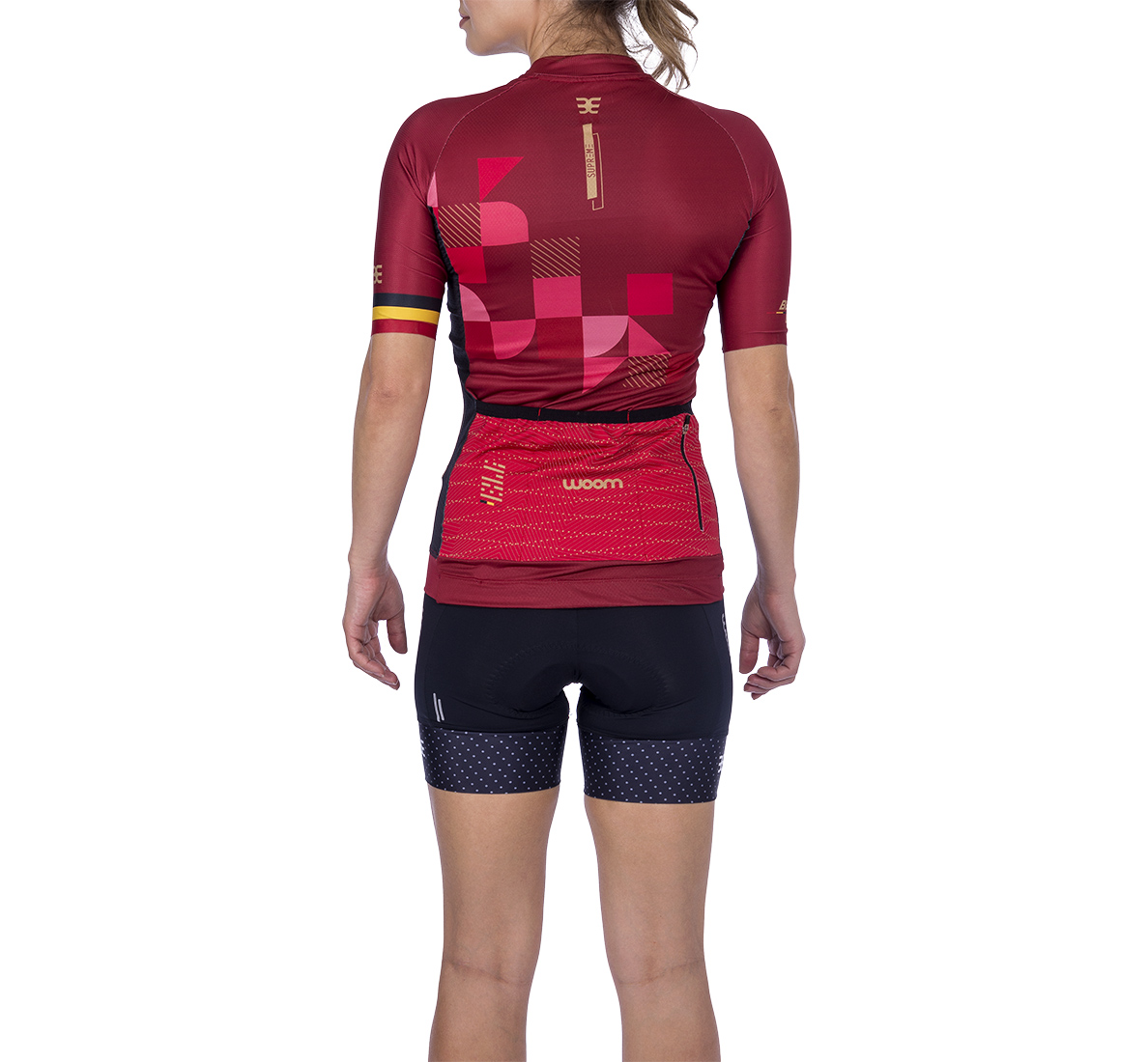Camisa Ciclismo Supreme Bélgica Fem - 2021