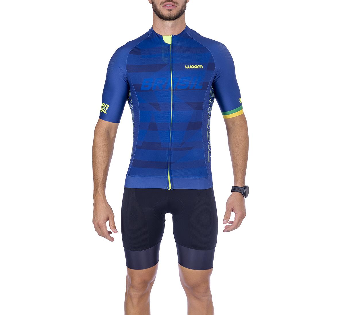 Camisa Ciclismo Supreme Brasil Masc - 2021
