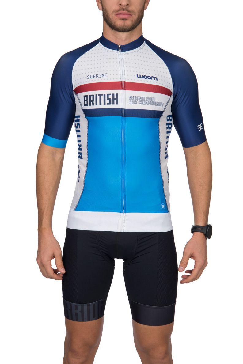 Camisa Ciclismo Supreme British - Masc - 2019