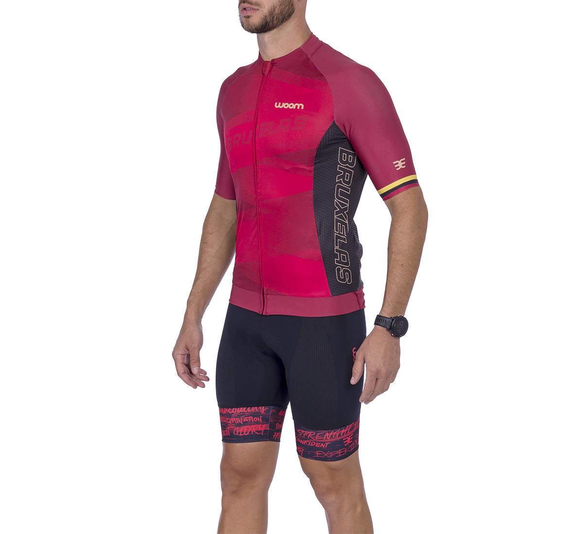Camisa Ciclismo Supreme Bruxelas Masc - 2021