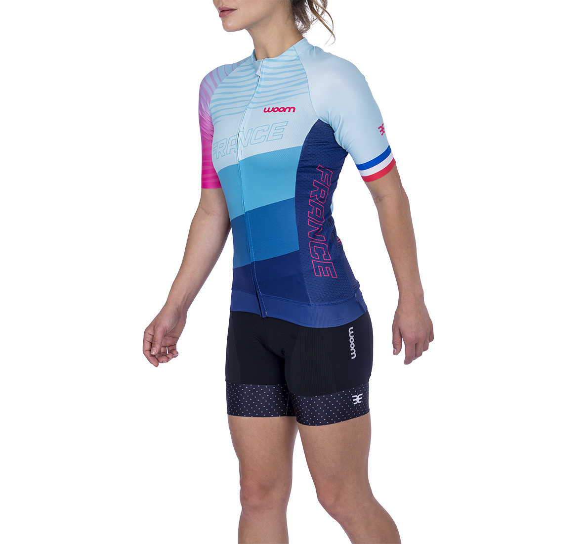 Camisa Ciclismo Supreme France Fem - 2021