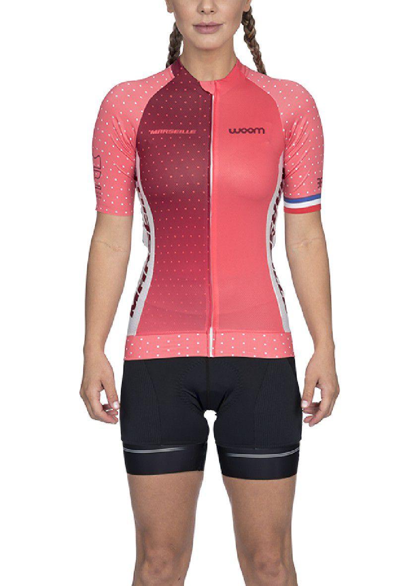 Camisa Ciclismo Supreme Marselle (Rosa) - Fem - 2020