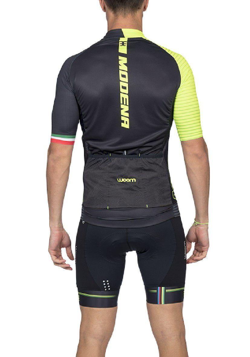 Camisa Ciclismo Supreme Modena (Verde) - Masc - 2020