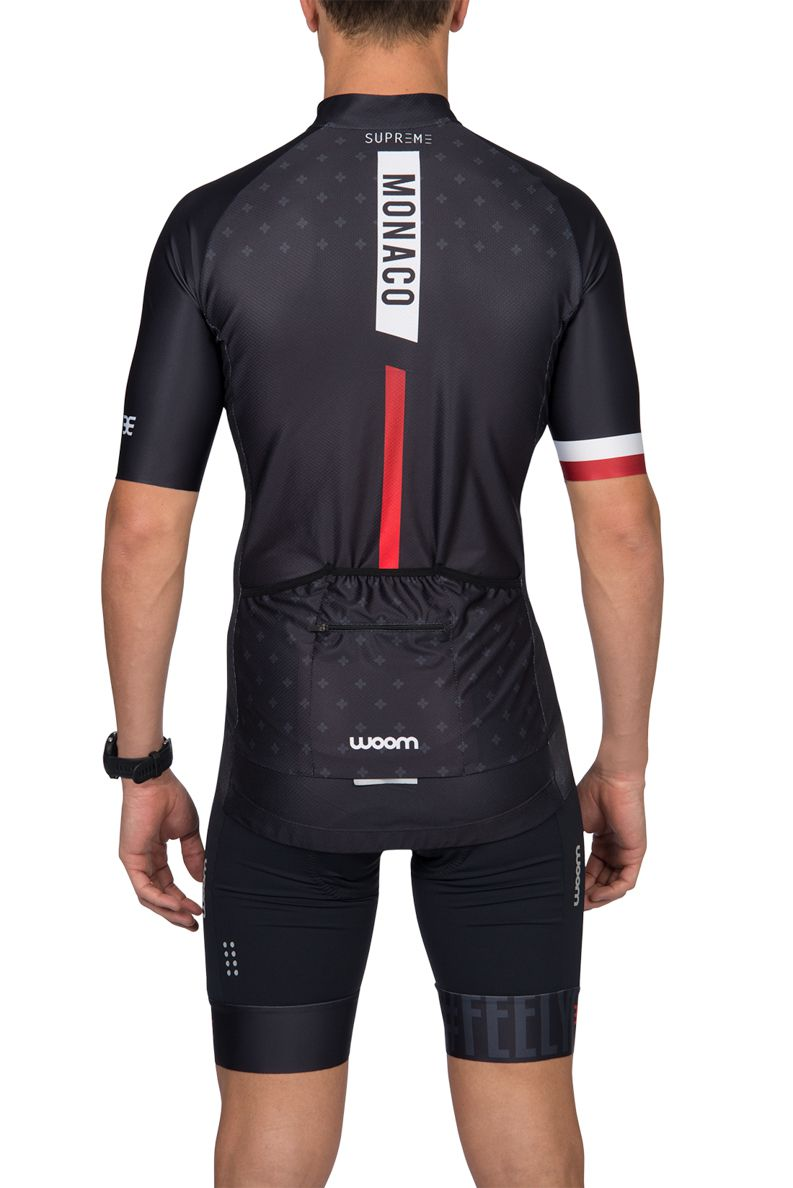 Camisa Ciclismo Supreme Monaco - Masc - 2019