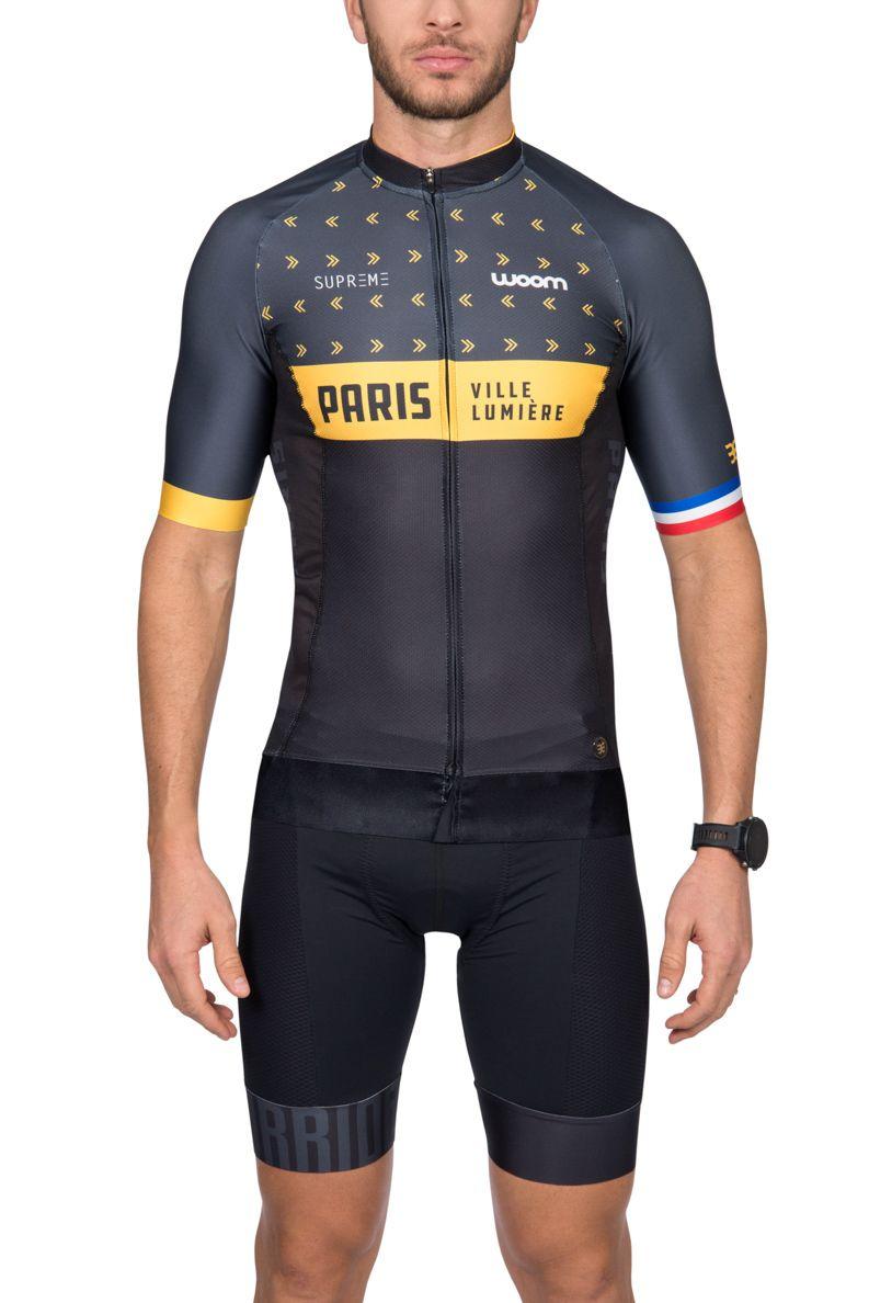 Camisa Ciclismo Supreme Paris - Masc - 2019