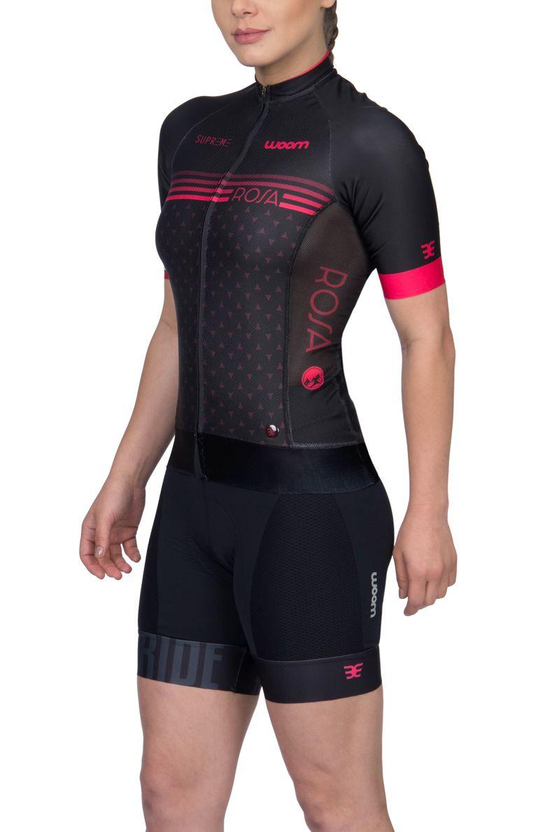 Camisa Ciclismo Supreme Rosa - Fem - 2019