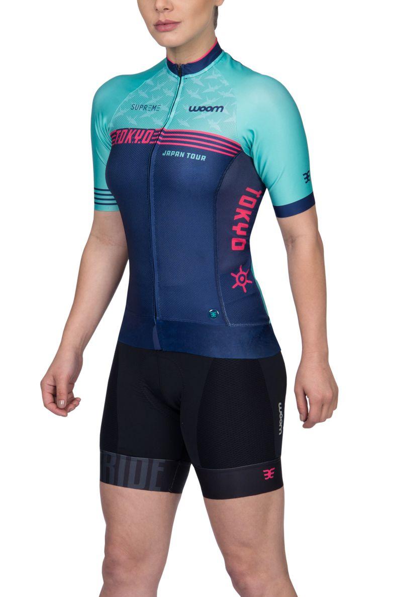 Camisa Ciclismo Supreme Tokyo - Fem - 2019