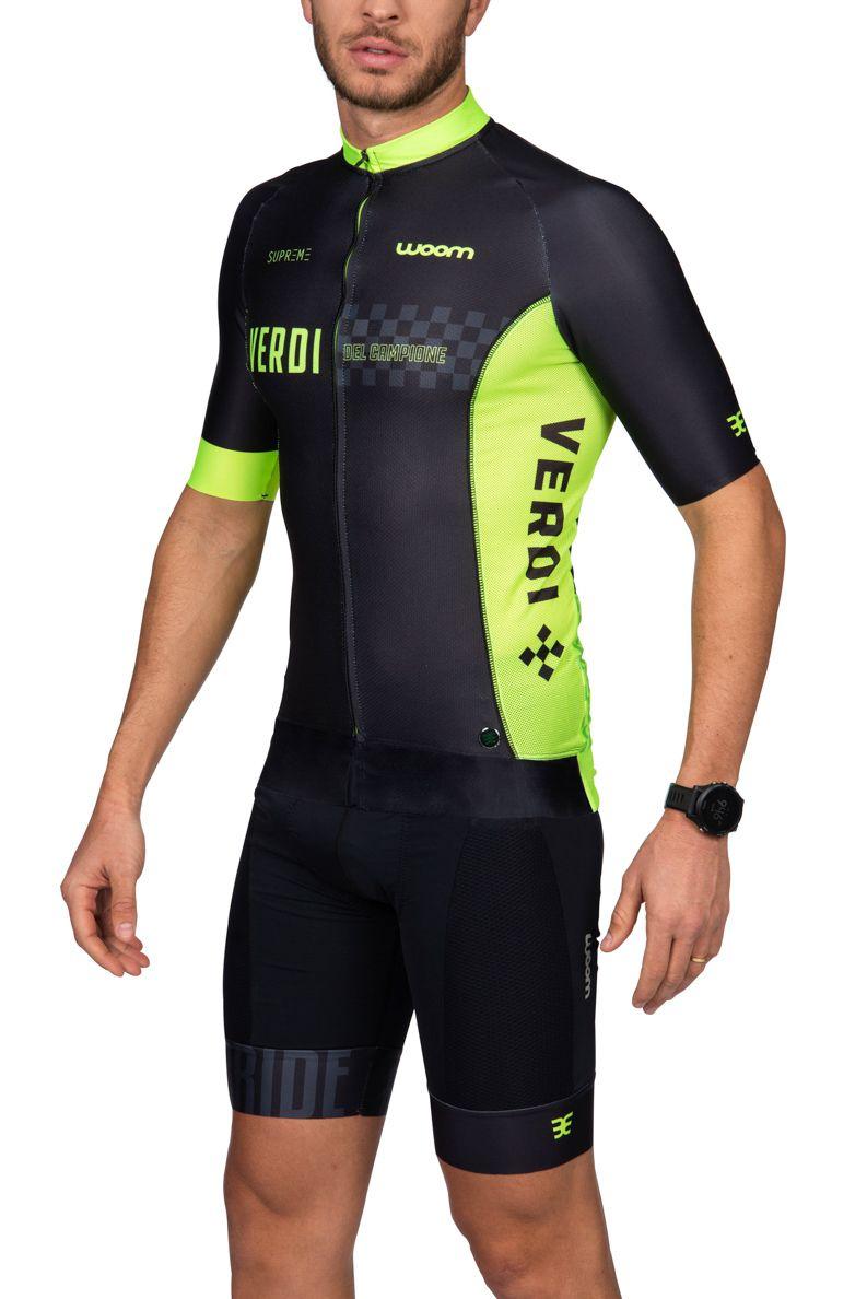 Camisa Ciclismo Supreme Verdi - Masc - 2019