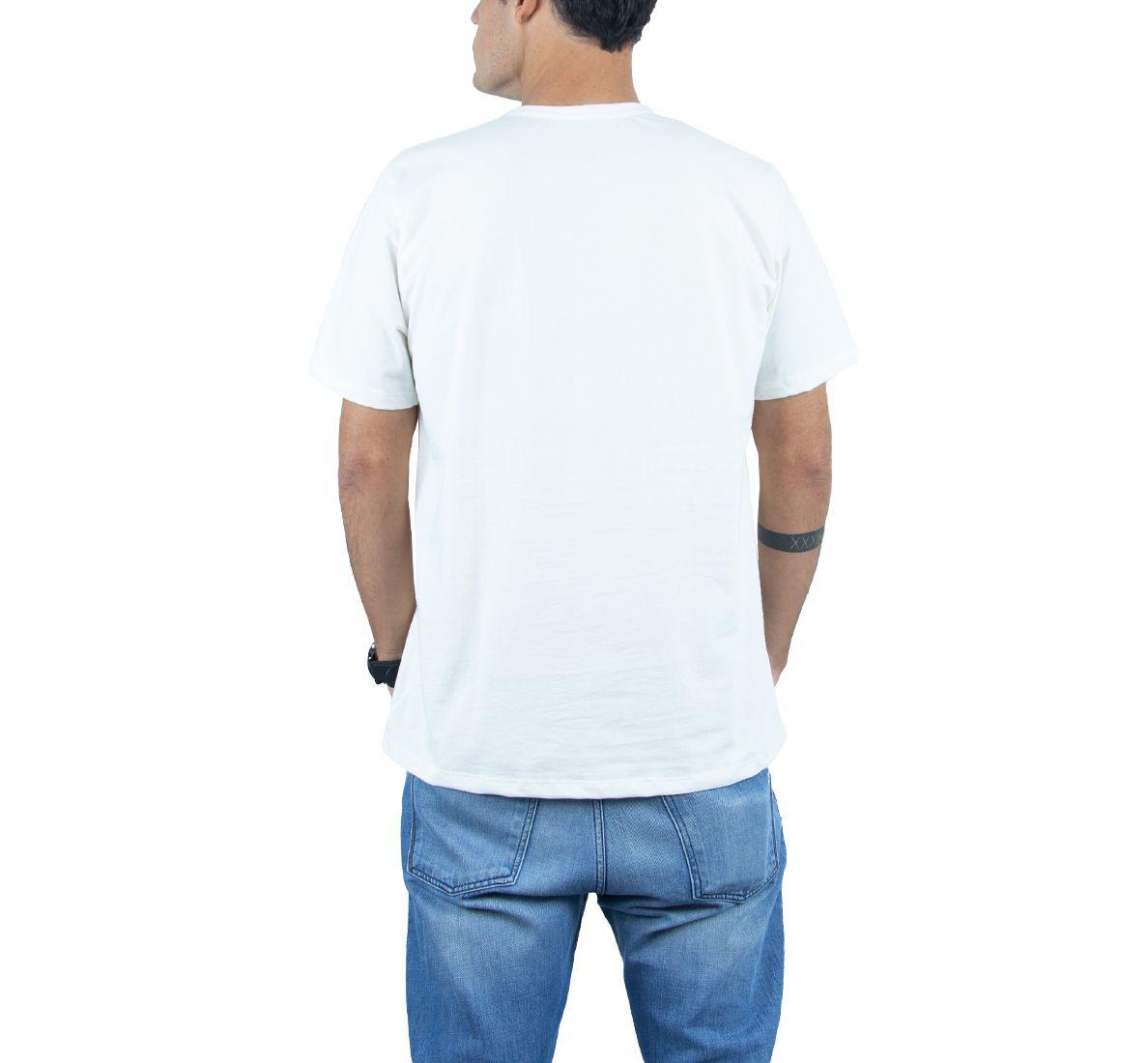 Camiseta California Masc - Off White - Woom 247