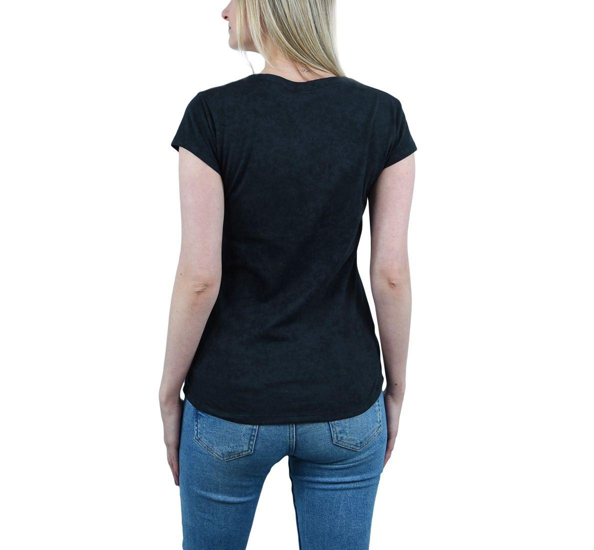 Camiseta Carbon Fem - Preto - Woom 247