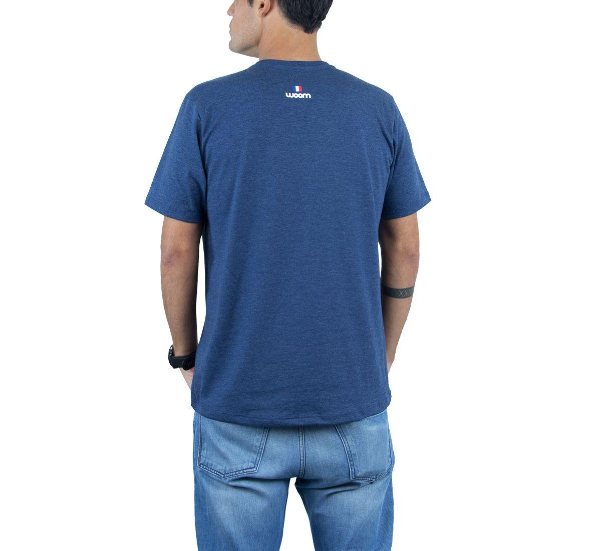 Camiseta France Masc - Azul Marinho - Woom 247