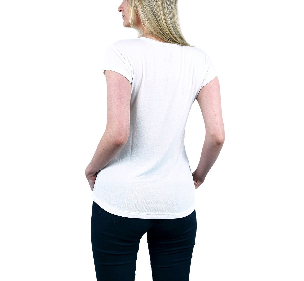 Camiseta Kona Fem - Off White - Woom 247